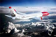 Direkte fly - Norwegian