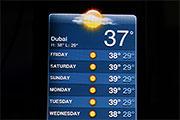 Ferie i Dubai - Vejr