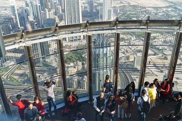 Burj Khalifa observationsdæk