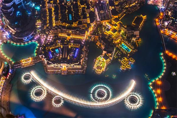Dubai springvand