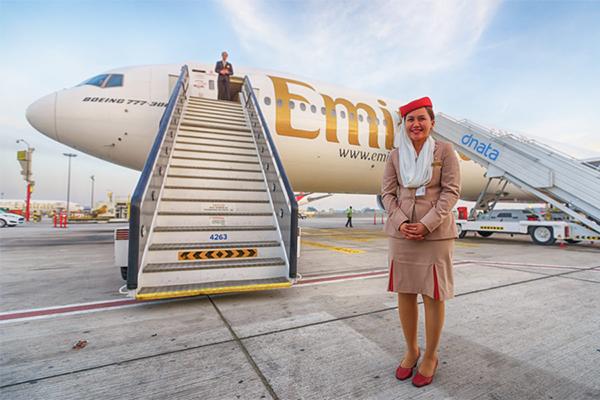 Emirates til Dubai