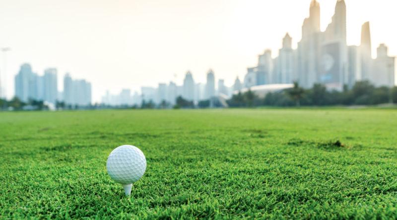 Spil golf i Dubai